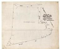 John Nobel 1887 Plummer, Great Falls 1890c Survey Plans